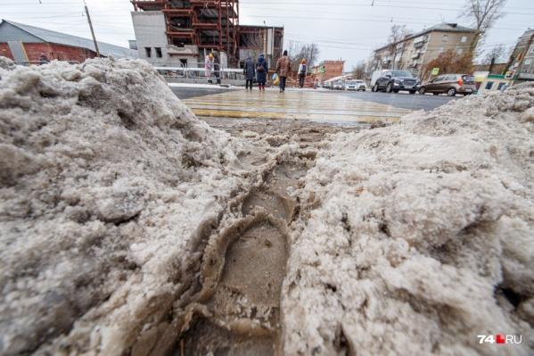 Все снежные кучи с городских улиц должны будут вывозить на новую свалку
