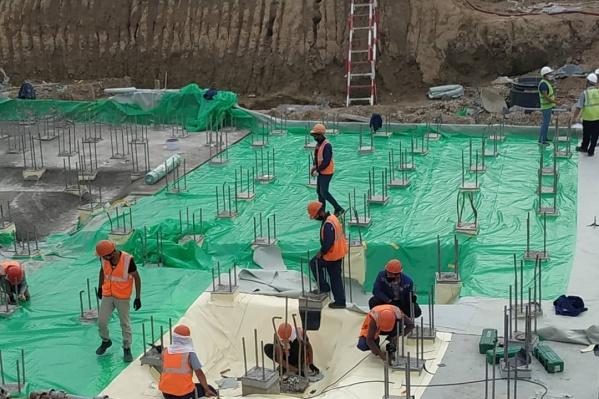 Строительные работы планируется закончить до мая 2021 года