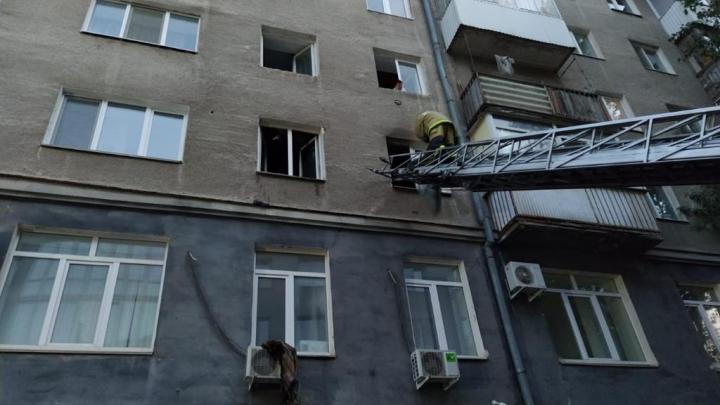 Уфимка чудом выжила при пожаре в квартире на улице Комсомольской