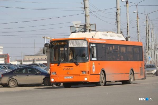 В ближайшие дни на маршруты будет выходить меньше транспорта