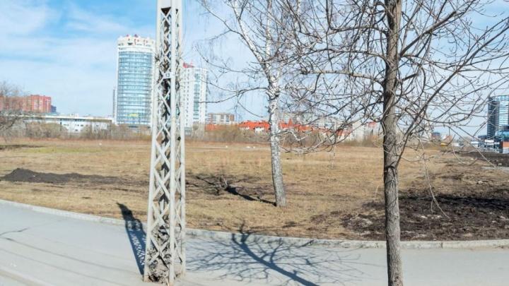 Пустырь на Фурманова, где могли бы возвести храм Святой Екатерины, застроят