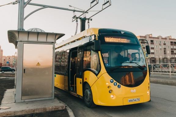 В Самаре возобновили движение электробуса