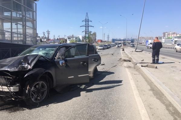 Мужчина с признаками опьянения утверждал, что за рулем находилась его жена