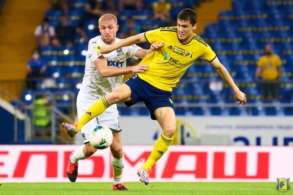 «Ростов» почти весь матч проигрывал, но вырвал ничью, забив гол в добавленное время