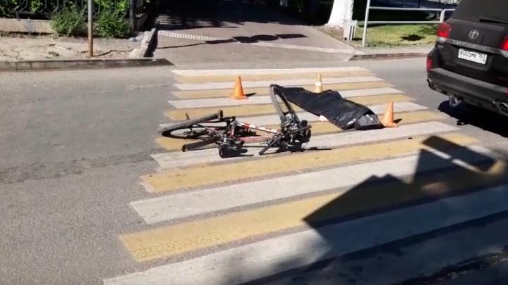 В полиции рассказали детали смертельного ДТП с велосипедистом и «Тойотой»
