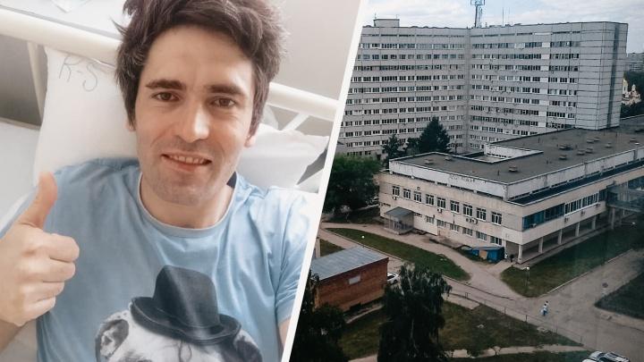 «Рад, что уйду из больницы»: врачи выписали тольяттинского режиссёра, заболевшего COVID