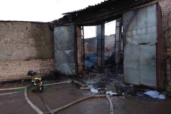 К счастью, при пожаре никто не пострадал
