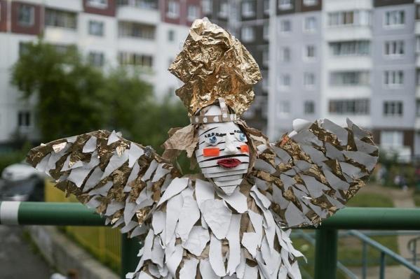Декорации для клипа сделали пермские дети