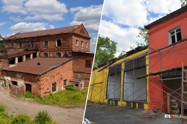 Сысертский железоделательный завод совсем скоро станет общественным пространством