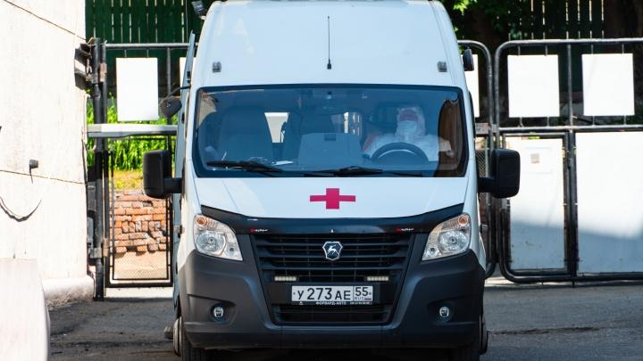 В Омской области умер ещё один заражённый COVID-19
