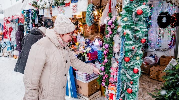 В Перми начнут работать первые новогодние ярмарки