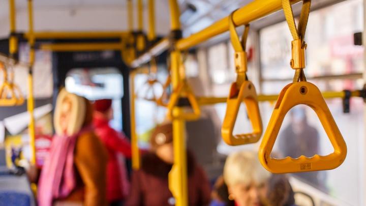 Волгоградцы не пожалели новогоднего дождика для троллейбусов