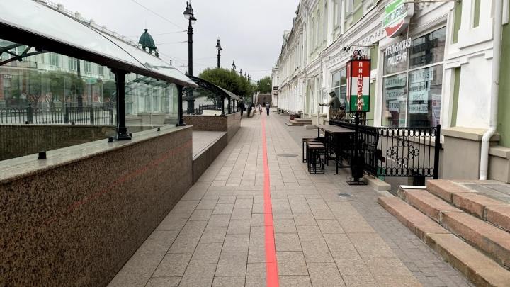 Красная линия соединила достопримечательности Омска. Пройдитесь по ней с корреспондентом NGS55.RU