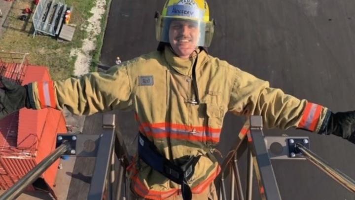 Экс-игрок «Авангарда» от скуки решил стать пожарным