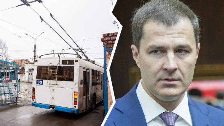 «Я сам проехал на восьмом троллейбусе»: мэр Ярославля передумал закрывать этот маршрут