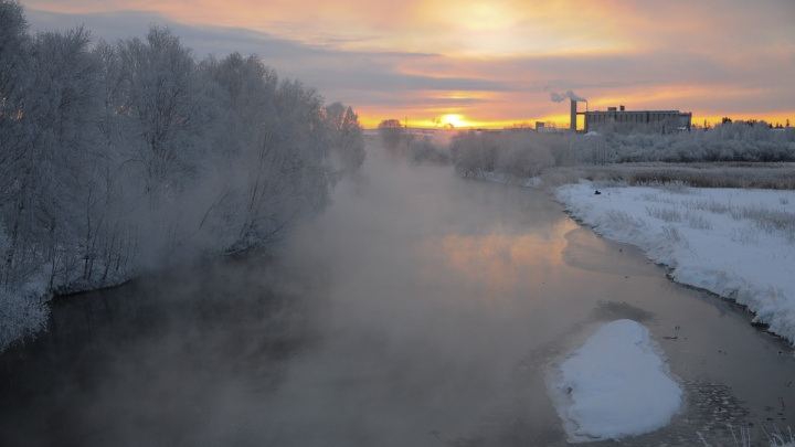 МЧС предупредило, что на Свердловскую область идут сильные морозы