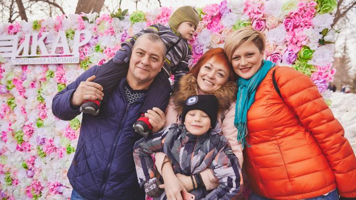 Повышаем градус: смотрим, как Челябинск встретил весну