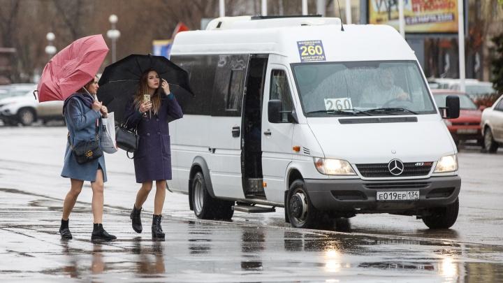 В Волгоградской области ожидаются сильный ветер, дожди и+12 ºС