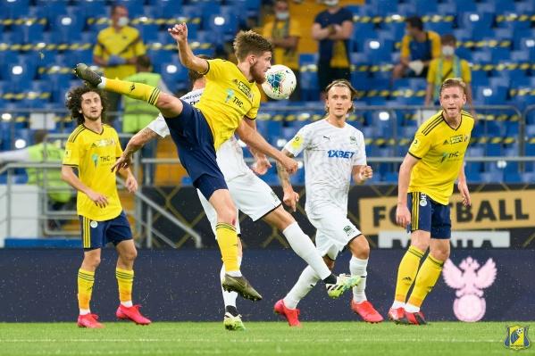 «Краснодар» открыл счет в матче уже на 13-й минуте