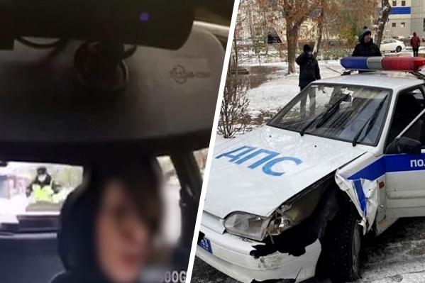 Что пытался доказать мужчина, угоняя авто, остается только догадываться