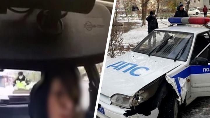 GTA по-тольяттински: появилось видео угона машины ДПС
