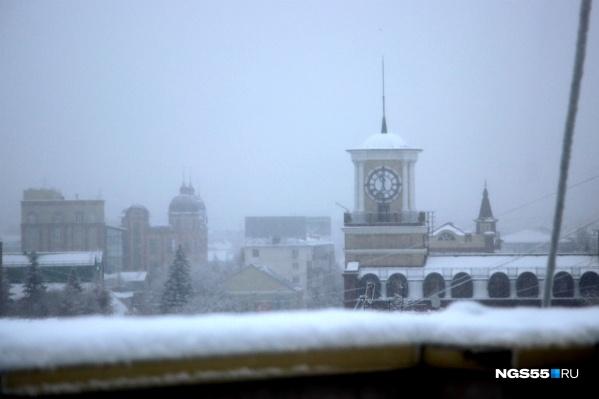 Городские службы уже начинают готовиться к грядущему снегопаду