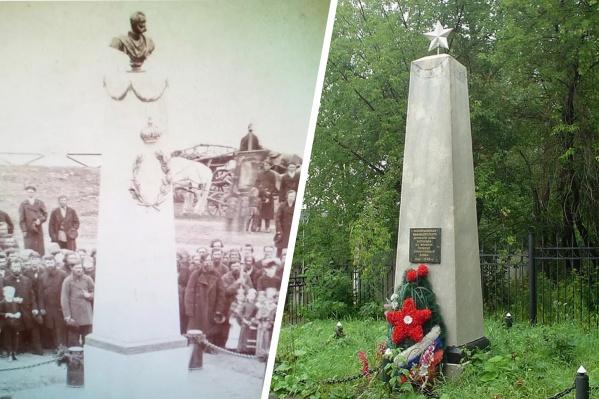 """Так памятник выглядел в <nobr class=""""_"""">XIX веке</nobr> и сейчас"""