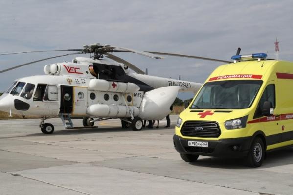 Воздушная скорая помощь возобновила работу в регионе в августе 2020 года