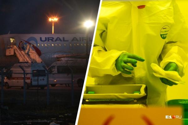 На самолёте из Турции прилетели 69 россиян