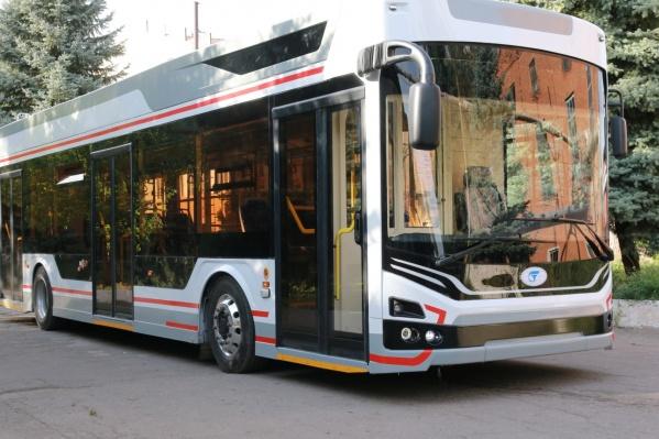 Так выглядят троллейбусы «Адмирал»