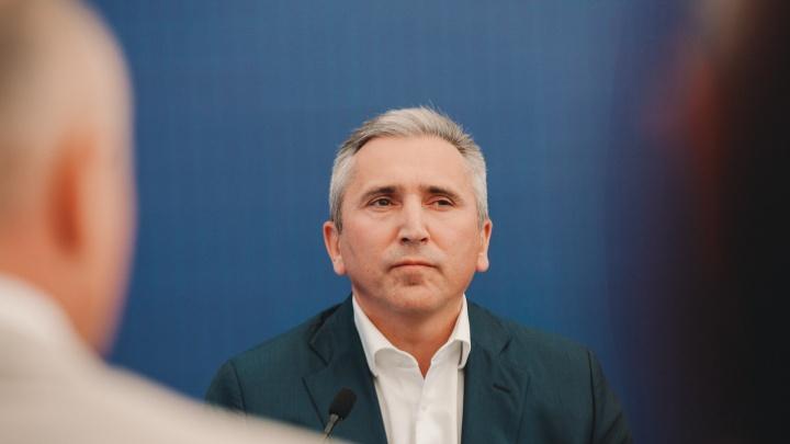 Александр Моор сказал, от чего зависит открытие ТРЦ и кафе в Тюмени
