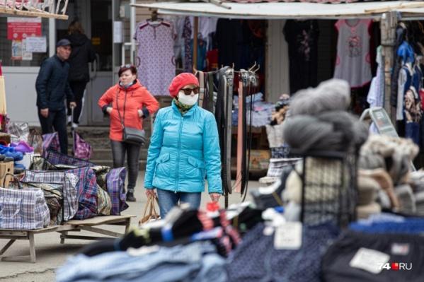 За тем, чтобы рынок в Аргаяше не открылся в выходные, будет следить полиция