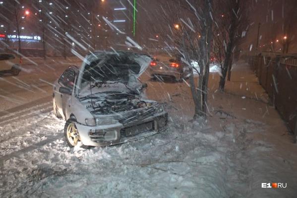 В ДТП пострадала девушка-пассажирка