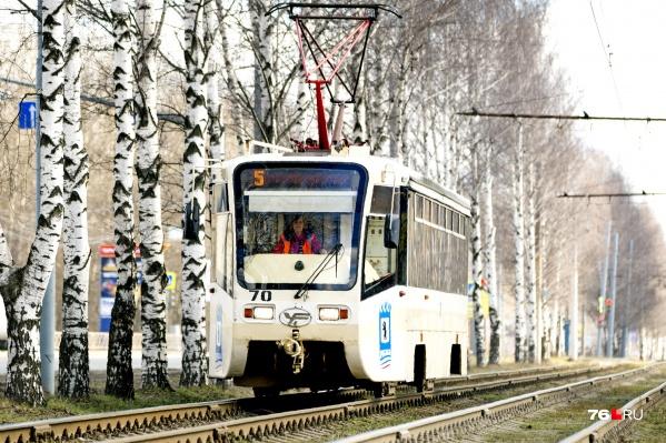 Трамваи № 5 и 7 два дня будут ходить по сокращенным маршрутам
