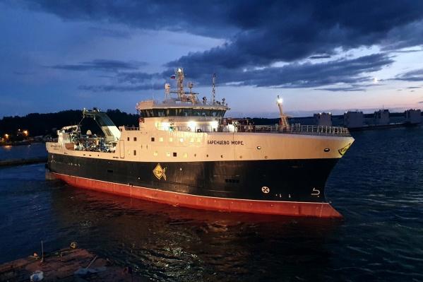 Степень готовности судна оценивают в 95%