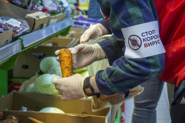 Те, кто сидит дома на самоизоляции и не может выйти на улицу, предъявляют завышенные требования к еде,считает волонтер