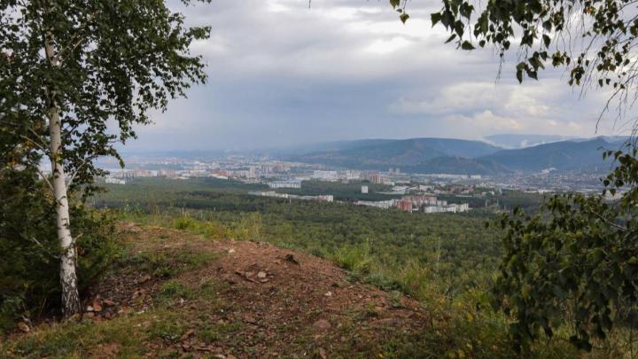 В Красноярске появится новая смотровая площадка с живописным видом на город