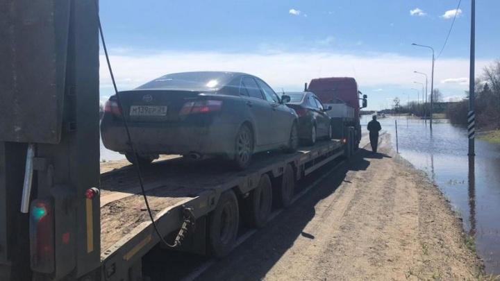 Режим ЧС из-за паводка в Шенкурском районе отменили