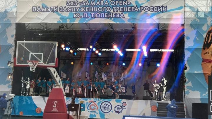 Звёзды самарского баскетбола провели дружеский матч во время турнира Samara Open — 2020