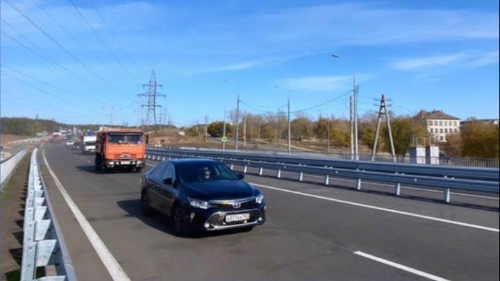 В Самарской области открыли движение по трёхуровневой развязке на М-5