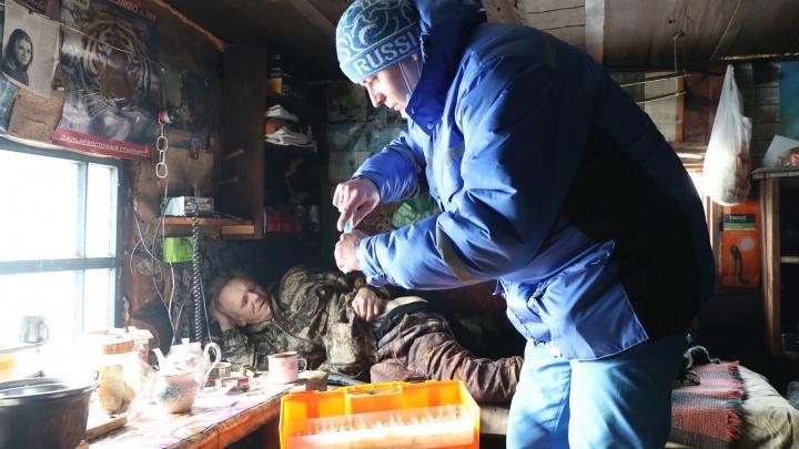 Из глухой тайги эвакуировали 59-летнего охотника