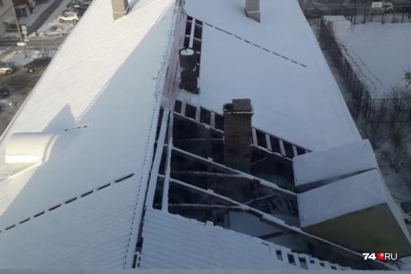 Жильцы пятого этажа замерзают в своих квартирах