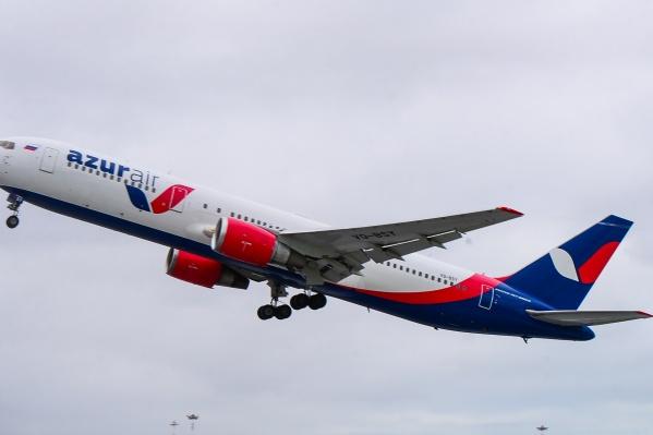Самолет — второй из четырех
