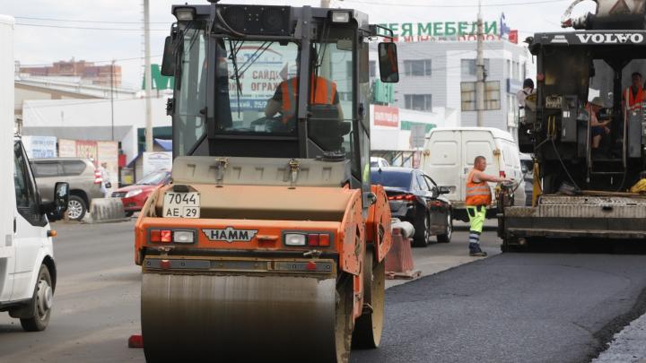 300 миллионов на ремонт: на какие дороги в Архангельске пойдут эти деньги