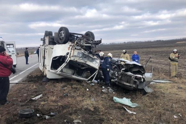 Авария произошла на трассе Новошахтинск — Гуково