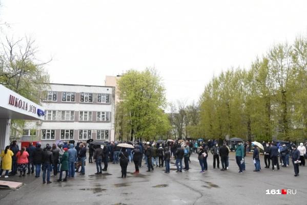 Очереди за спецпропусками в Ростове стали, пожалуй, самым ярким событием дня