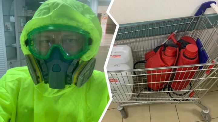 В ярославской больнице открыли бокс для осмотра пациентов с подозрением на коронавирус. Видео