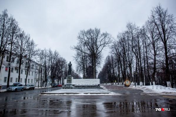 На этой неделе в Ярославле растает много снега