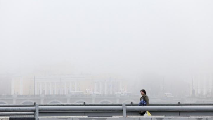 Челябинский аэропорт из-за тумана не принимает самолеты