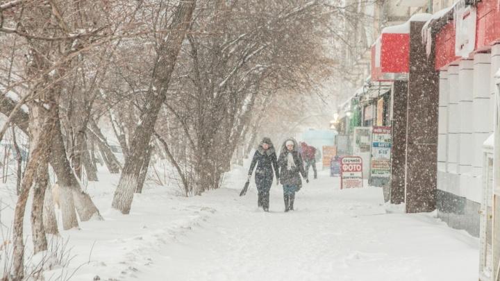 В выходные в Самарской области ожидается снег